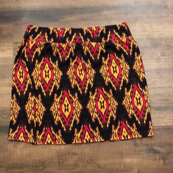 Kensie Dresses & Skirts - Kensie Pieces brown/red mini skirt